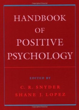 Hand Book Psychology Positive
