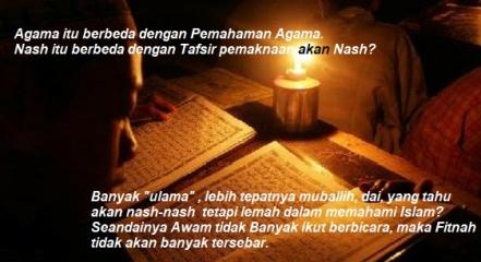 Agama dan Pemahaman Agama